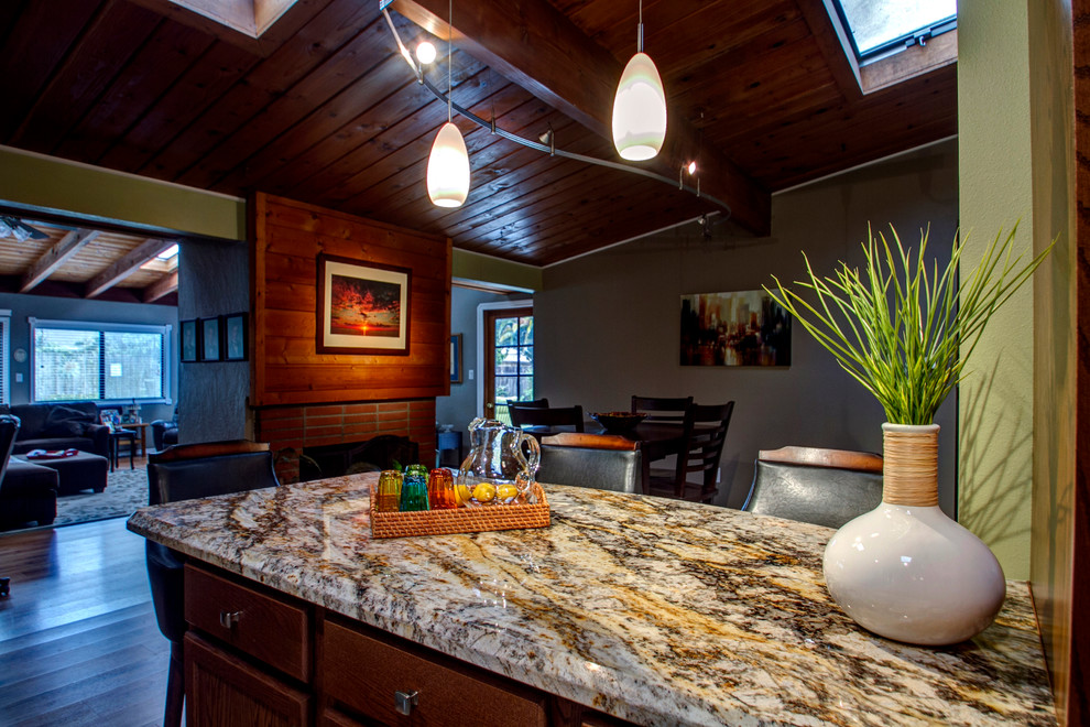 Galley Kitchen - Traditional - Kitchen - San Diego - by ...