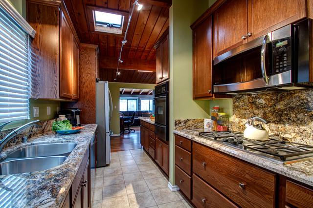 Galley kitchen traditional kitchen san diego by for Traditional galley kitchens