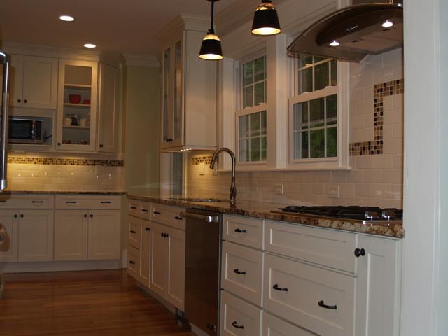 Galley Kitchen Newton Ma Traditional Kitchen Boston