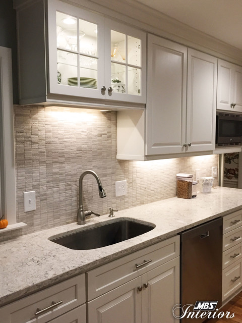galley kitchen remodel transitional kitchen