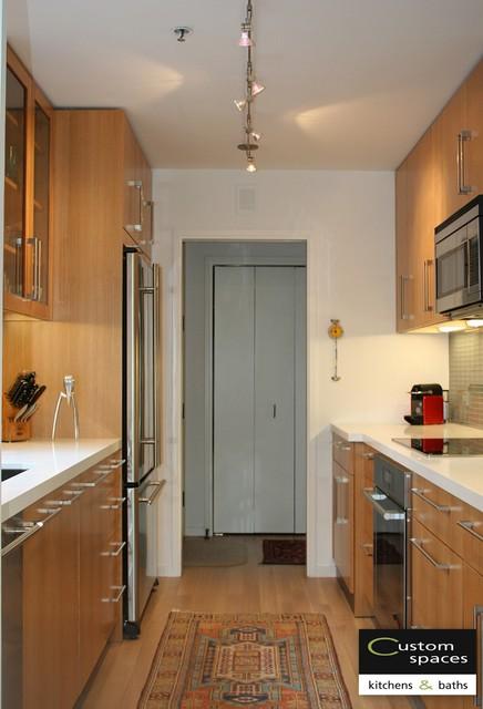 Galley kitchen modern kitchen san francisco by for Galley kitchen light fixtures