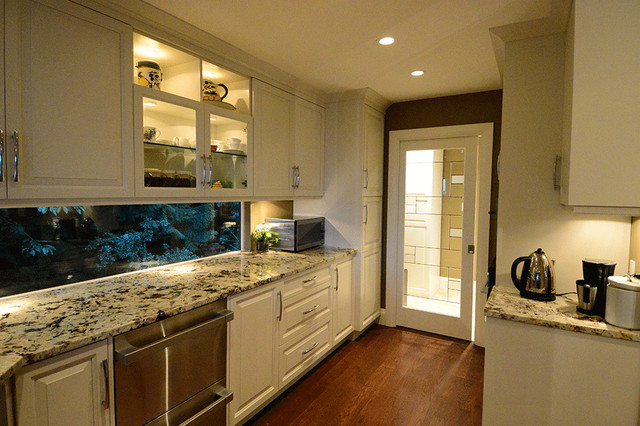 Galley Kitchen Transformation Traditional Kitchen Vancouver By Point Nexus Consulting Inc