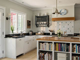 This Extra-Large Island Has a Built-In Baking Station (6 photos)