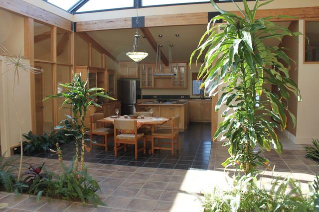 Garden atrium modern kitchen for Atrium garden window