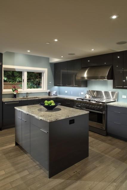 Garden House Contemporary Kitchen Vancouver By Architrix Design Studio Inc