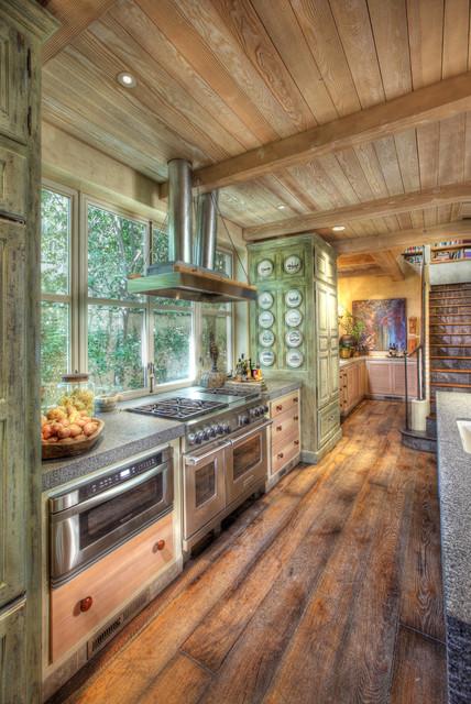 Garden House eclectic-kitchen