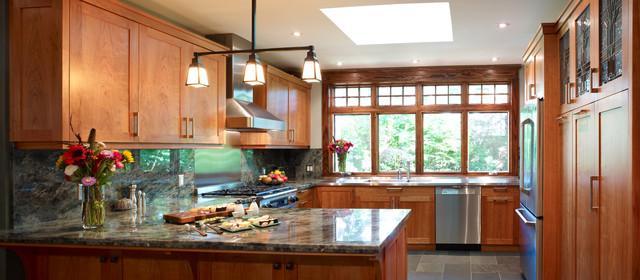Garden Kitchen traditional-kitchen