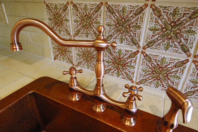 Garret Home Remodel with Spanish Ceramic Tile mediterranean-kitchen