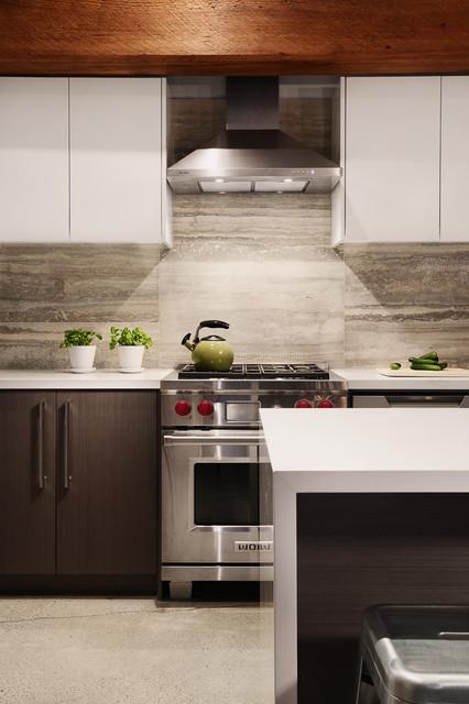 gastown penthouse contemporary kitchen vancouver