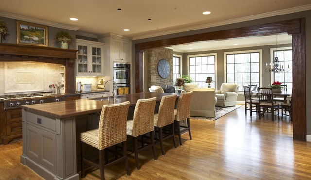 Gathering Place traditional-kitchen