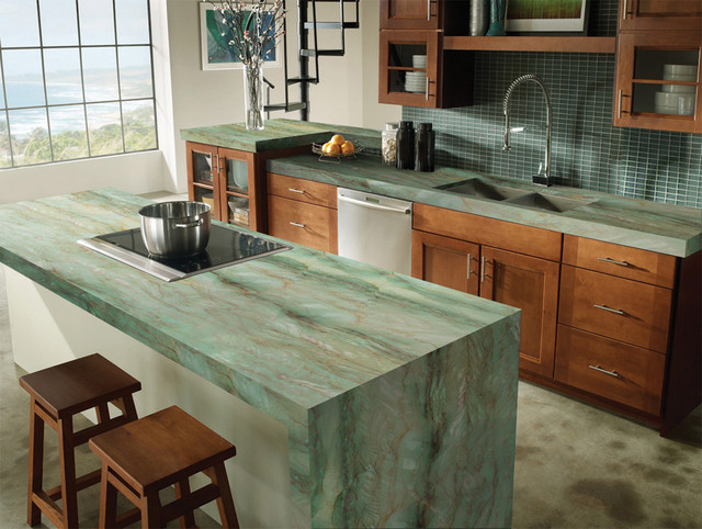 Gaya Quartzite   Traditional   Kitchen   Miami   By Marble ...