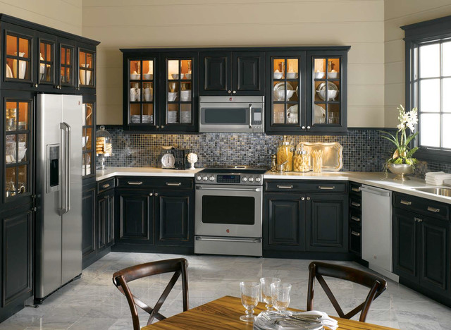 GE Cafe Kitchen - Traditional - Kitchen - Philadelphia - by Mrs. G ...
