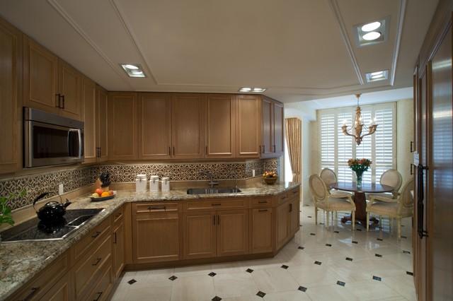 Geller Design Group, In. traditional-kitchen