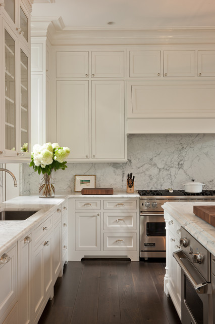 Georgetown row house transitional kitchen dc metro for Ceiling high kitchen cabinets