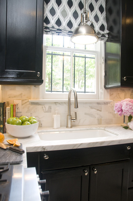 Georgetown Townhouse transitional-kitchen