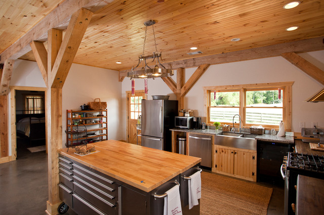 Georgia Barn Home Contemporary Kitchen Other Metro By Sand