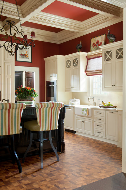 Georgian colonial house traditional kitchen other for Accents salon bentonville ar
