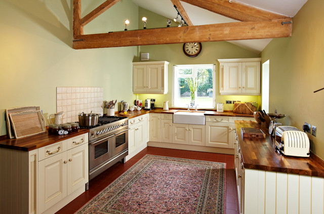 Georgian Farmhouse Traditional Kitchen East Anglia By Latham