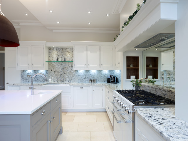 Georgian Kitchen Leamington Spa Traditional Kitchen Hertfordshire By Fine Fitted Interiors