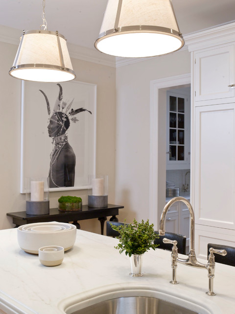 Greenwich Ct Home I Transitional Kitchen Dallas By S B Long Interiors