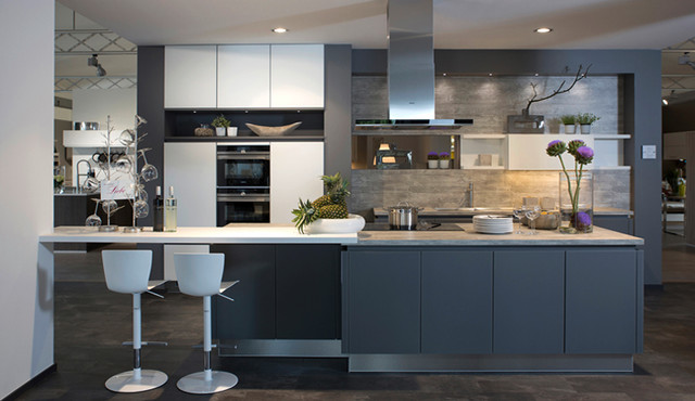 German Kitchen Cabinets Contemporary Kitchen