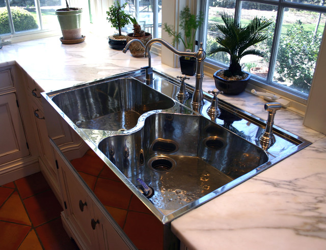 German silver sink traditional kitchen new york by for German made kitchen sinks