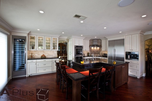 Ghassemian Contemporary Kitchen Orange County By Aplus Interior Design Remodeling