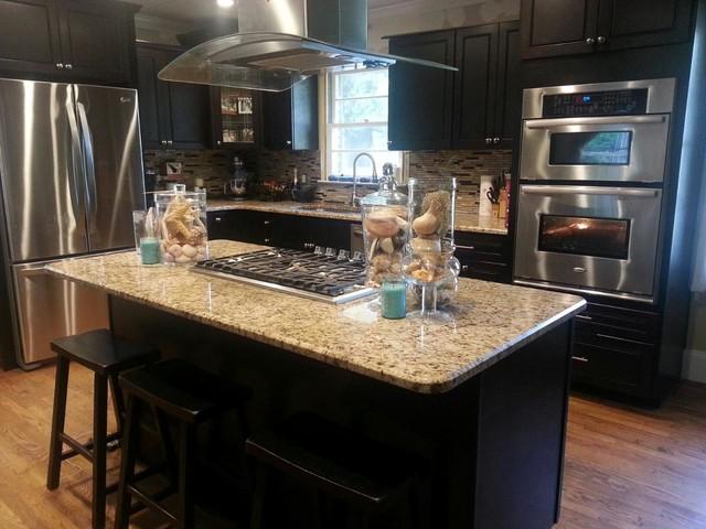 Giallo Ornamental - Traditional - Kitchen - atlanta - by E & D Granite City