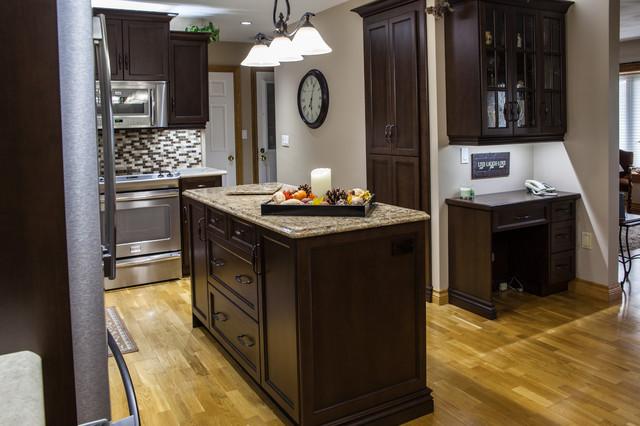 Gibson Traditional Kitchen Toronto By Allen Interiors Design Center Inc