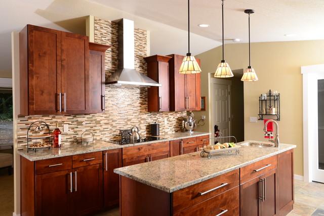 Gig harbor addition remodel traditional kitchen for Bath remodel gig harbor