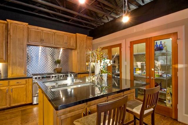 Gilbert Avenue - Sold! industrial-kitchen