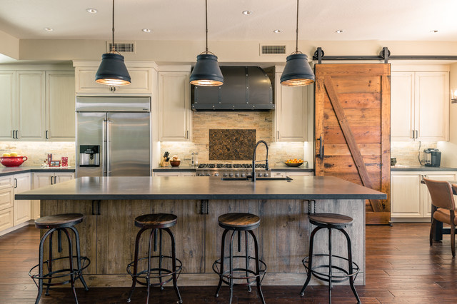 Farmhouse Kitchen gilbert, industrial farmhouse kitchen and game room
