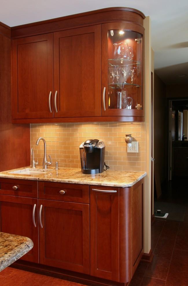 Ginger Bordeaux - Contemporary - Kitchen - Detroit - by ...