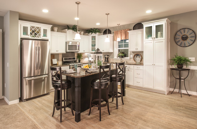 Glacier White Kitchen Traditional Kitchen Other By Legacy