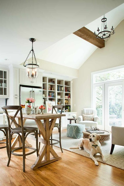 Gladstone Kitchen Keeping Room Remodel Rustic