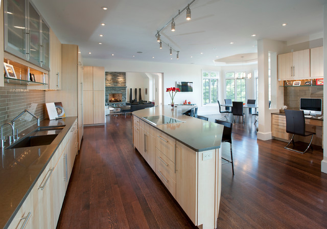 Gladwyne, PA - Custom Home contemporary-kitchen