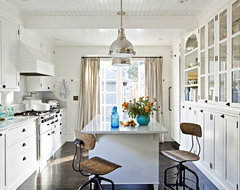 Glamorous Four Square traditional kitchen