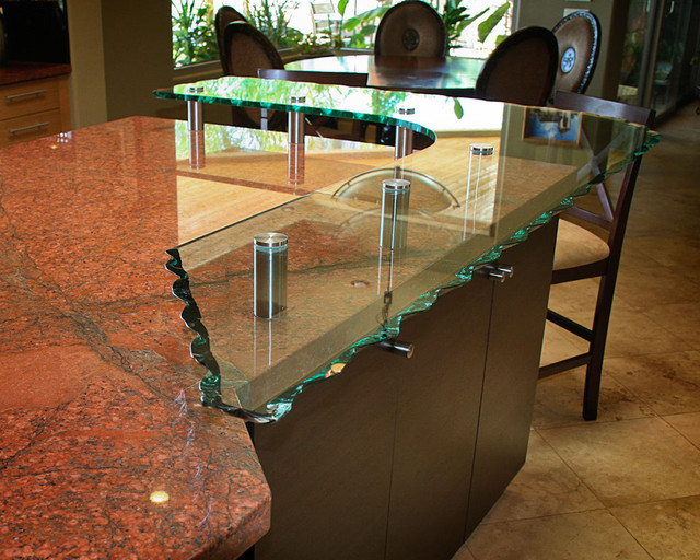 Glass Countertop Options Traditional Kitchen Phoenix By Arizona Designs Kitchens And Baths