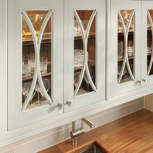Glass Fronted Traditional Cabinets