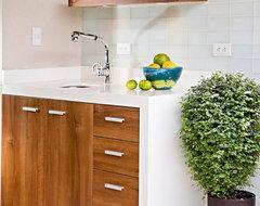 Glass Tile Backsplashes by SubwayTileOutlet modern-kitchen