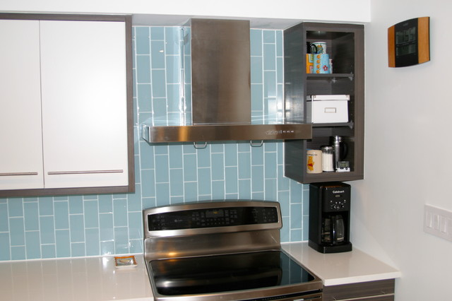 glass tile backsplashes by subwaytileoutlet contemporary kitchen