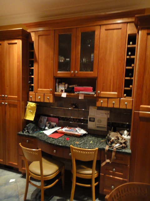 Glassman Traditional Kitchen Vancouver By Standfast Construction Millwork
