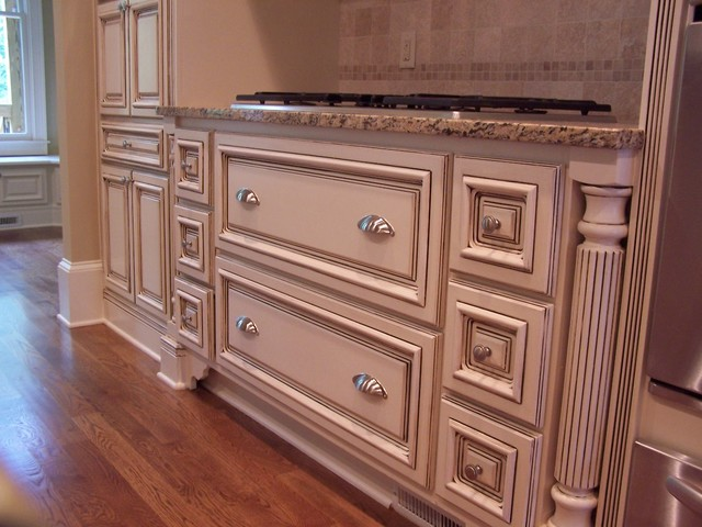 Glazed Kitchen Cabinets Atlanta Modern Kitchen Atlanta By Kbwalls