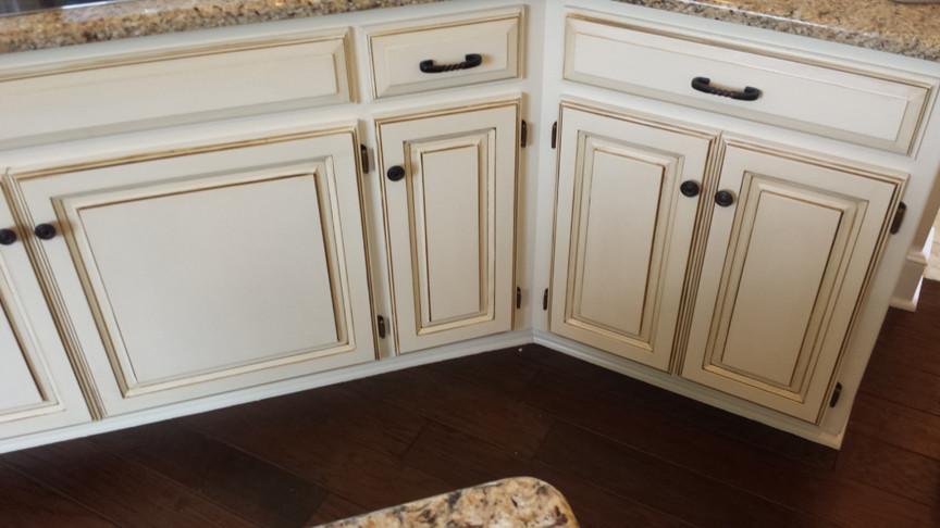 Glazed Kitchen Cabinets Houzz