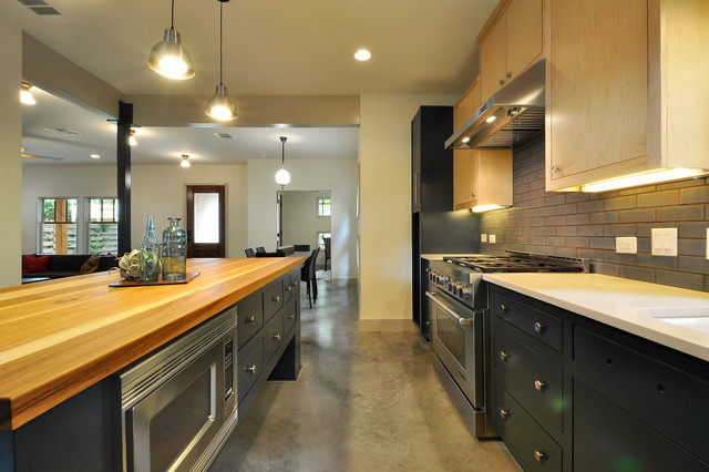 Industrial residential kitchen