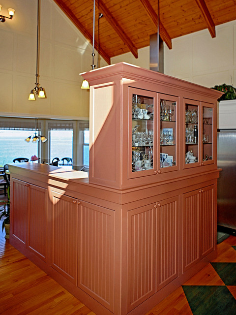 Custom designed china hutch. - Eclectic - Kitchen - Seattle - by Dan Nelson, Designs Northwest ...