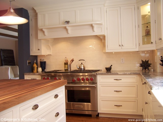 Glen Mills Kitchen and Master Bath traditional-kitchen