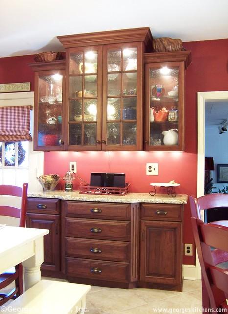 Glen Mills Kitchen Remodel traditional-kitchen
