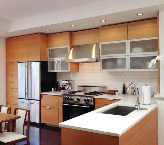Glen park residence modern kitchen san francisco for Barker kitchen cabinets