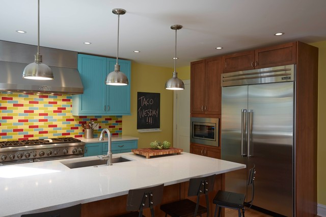 Glencoe Kitchen Eclectic Kitchen Chicago By Green Home Chicago Design Center